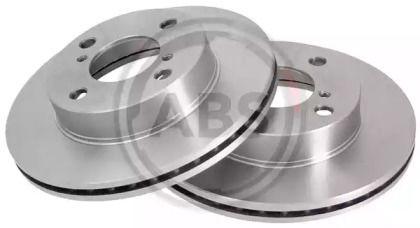 Вентилируемый тормозной диск на Ниссан Пиксо 'A.B.S. 18021'.