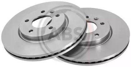 Вентилируемый тормозной диск на Шевроле Вольт 'A.B.S. 18032'.