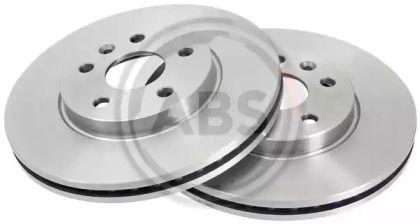 Вентилируемый тормозной диск на CHEVROLET COBALT 'A.B.S. 18034'.