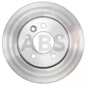 Вентилируемый тормозной диск на VOLKSWAGEN AMAROK 'A.B.S. 18128'.