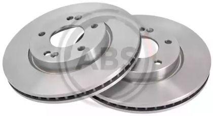 Вентилируемый тормозной диск на Киа Церато Куп 'A.B.S. 18151'.