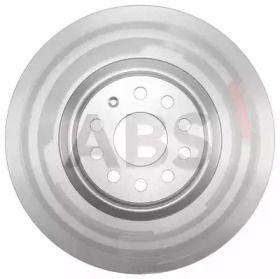 Вентилируемый тормозной диск на Фольксваген Тигуан Олспейс 'A.B.S. 18194'.