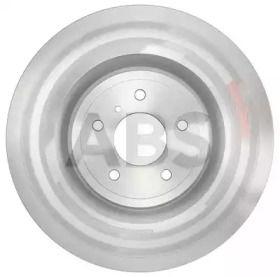 Вентилируемый тормозной диск на Ниссан 370З 'A.B.S. 18214'.