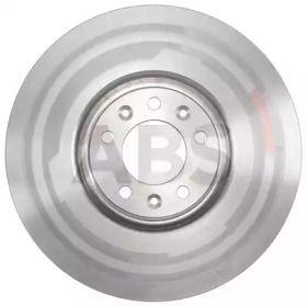 Вентилируемый тормозной диск на CITROEN C6 'A.B.S. 18259'.