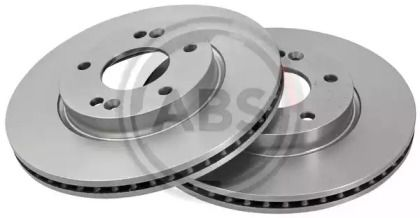 Вентилируемый тормозной диск на Киа Церато Куп 'A.B.S. 18302'.