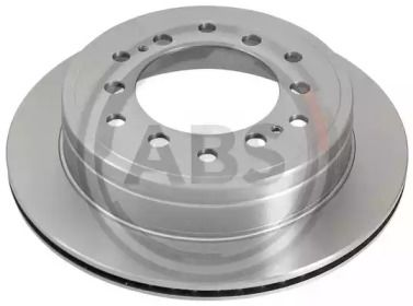 Вентилируемый тормозной диск на Тайота Ленд Крузер Прадо 'A.B.S. 18335'.