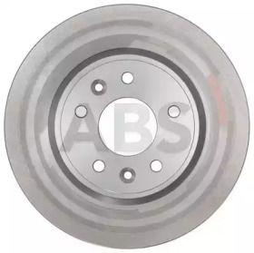 Вентилируемый тормозной диск на NISSAN LEAF A.B.S. 18409.