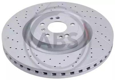 Вентилируемый тормозной диск на Мерседес Глс 'A.B.S. 18472'.