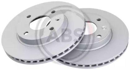 Вентилируемый тормозной диск на OPEL KARL 'A.B.S. 18492'.