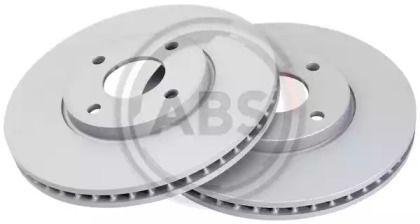 Вентилируемый тормозной диск на FORD ECOSPORT 'A.B.S. 18494'.