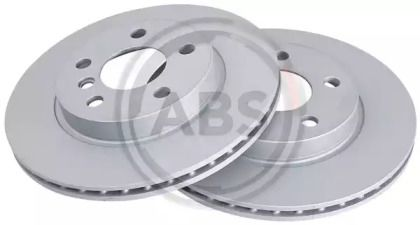 Вентилируемый тормозной диск на BMW I3 'A.B.S. 18496'.