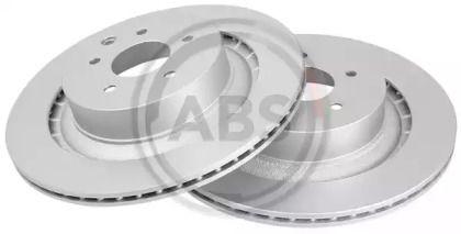 Вентилируемый тормозной диск на NISSAN 370Z 'A.B.S. 18501'.