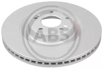 Вентилируемый тормозной диск на HYUNDAI GENESIS 'A.B.S. 18509'.