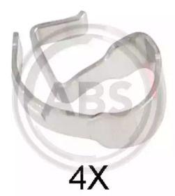 Скоби гальмівних колодок на MAZDA MX-5 'A.B.S. 2021Q'.