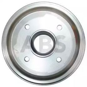 Тормозной барабан на Пежо 206 'A.B.S. 2513-S'.