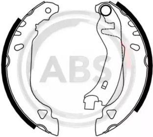 Барабанні гальмівні колодки A.B.S. 8831.