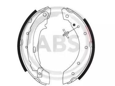 Барабанні гальмівні колодки A.B.S. 8895.