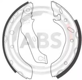 Барабанні гальмівні колодки A.B.S. 8945.
