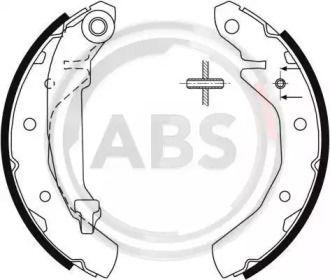 Барабанні гальмівні колодки A.B.S. 9061.