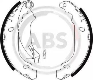 Барабанні гальмівні колодки A.B.S. 9124.
