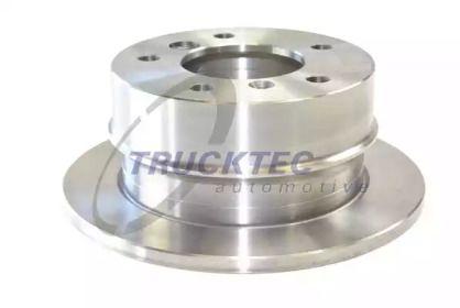 Задний тормозной диск на Мерседес Спринтер 'TRUCKTEC AUTOMOTIVE 02.35.053'.