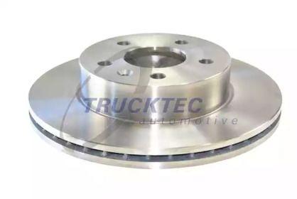 Вентилируемый передний тормозной диск на Мерседес В Класс 'TRUCKTEC AUTOMOTIVE 02.35.074'.