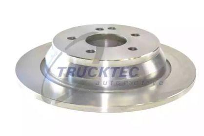 Задний тормозной диск на MERCEDES-BENZ VITO 'TRUCKTEC AUTOMOTIVE 02.35.133'.