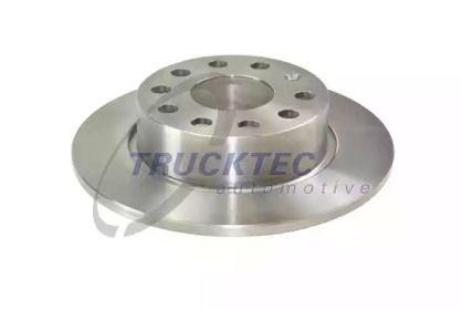 Задний тормозной диск на Фольксваген Битл 'TRUCKTEC AUTOMOTIVE 07.35.196'.