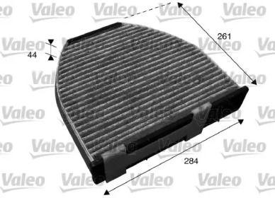 Вугільний фільтр салону на Mercedes-Benz GLK  VALEO 715600.