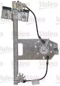 Задний левый стеклоподъемник на Шкода Октавия А5 VALEO 850584.