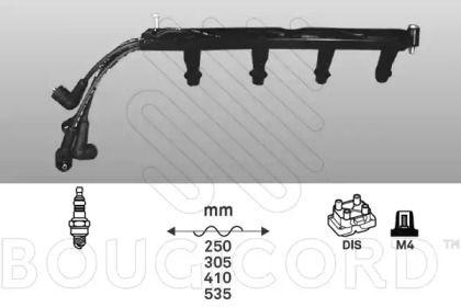 Высоковольтные провода зажигания BOUGICORD 1439.
