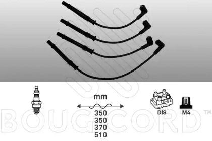 Высоковольтные провода зажигания 'BOUGICORD 8115'.