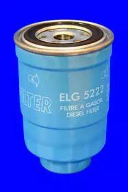 Фильтр топливный дизель на Мазда МПВ 'MECAFILTER ELG5222'.