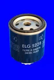 Фільтр паливний дизель на MITSUBISHI CARISMA 'MECAFILTER ELG5228'.