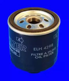 Масляный фильтр на SEAT LEON 'MECAFILTER ELH4298'.