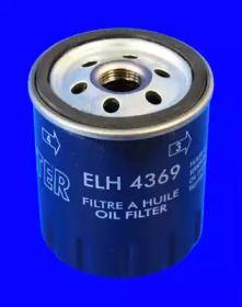 Масляний фільтр на MAZDA CX-5 MECAFILTER ELH4369.