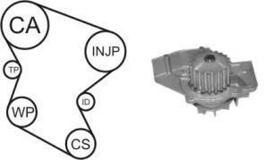 Комплект ГРМ з помпою AIRTEX WPK-1580R01.