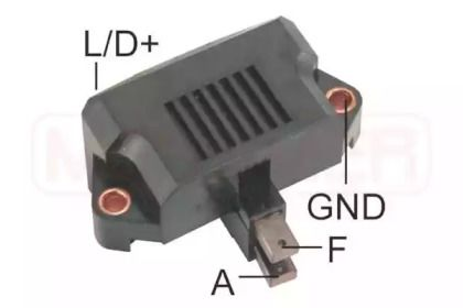 Реле регулятора генератора на Фольксваген Джетта 'ERA 215832'.