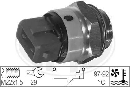 Датчик включения вентилятора на Ситроен Ксара Пикассо 'ERA 330188'.