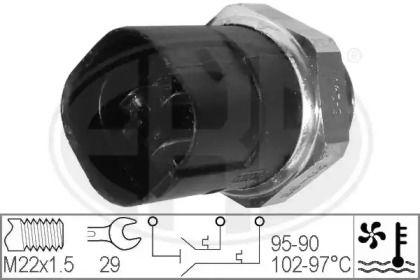 Датчик включения вентилятора на Фольксваген Джетта 'ERA 330280'.