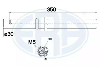 Осушитель кондиционера на SEAT ALTEA ERA 668003.