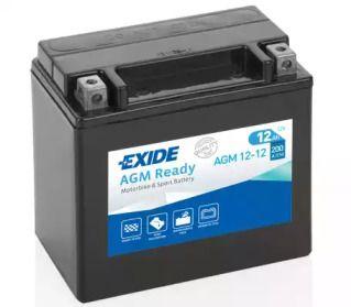 Акумулятор 'EXIDE AGM12-12'.