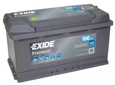 Акумулятор на NISSAN NAVARA 'EXIDE EA1000'.