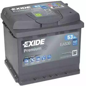 Аккумулятор на VOLKSWAGEN JETTA 'EXIDE _EA530'.