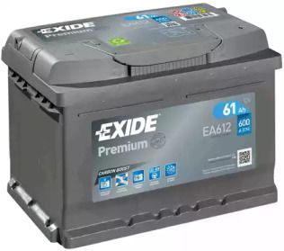 Аккумулятор на Фольксваген Джетта 'EXIDE EA612'.