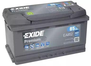 Акумулятор на Ніссан Навара 'EXIDE EA852'.