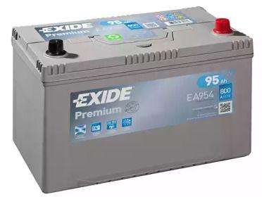 Акумулятор на Ісузу Міді 'EXIDE _EA954'.