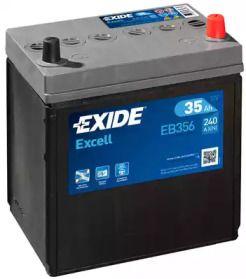 Акумулятор на DAEWOO MATIZ 'EXIDE EB356'.