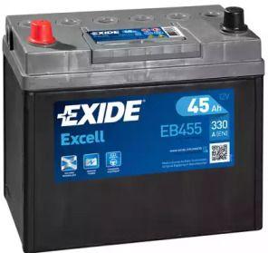 Акумулятор 'EXIDE _EB455'.