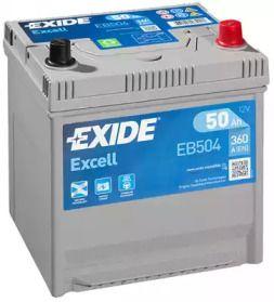 Акумулятор на Мазда МХ3  EXIDE EB504.